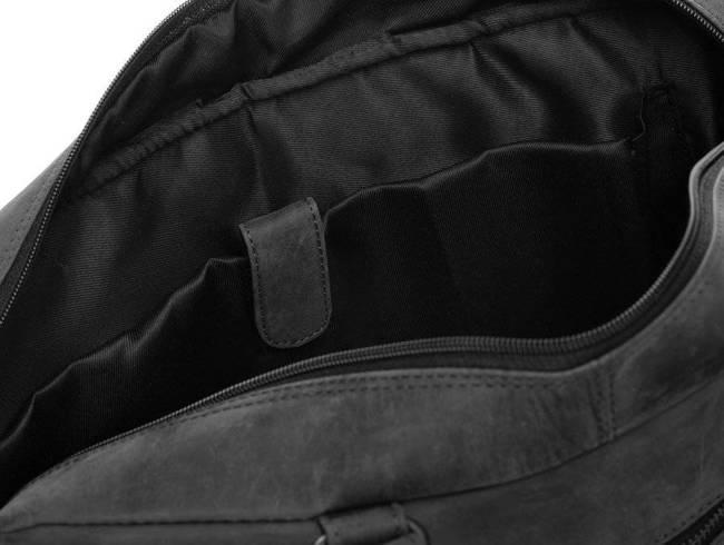 Torba męska na laptopa czarna ALWAYS WILD LAP-146-TGH-7410 BLA