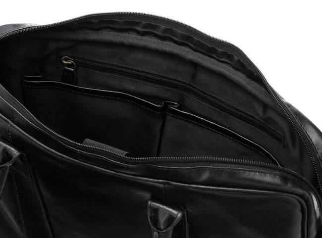 Torba męska na laptopa czarna Rovicky LAP-1502-CCVT BLACK