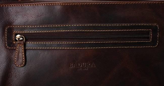 Torba męska na laptopa koniak Badura LAP-2373-B-COM COGNA