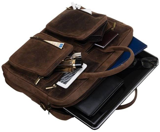 Torba na laptopa Always Wild brązowa LAP-31702-TGH-NL BRO