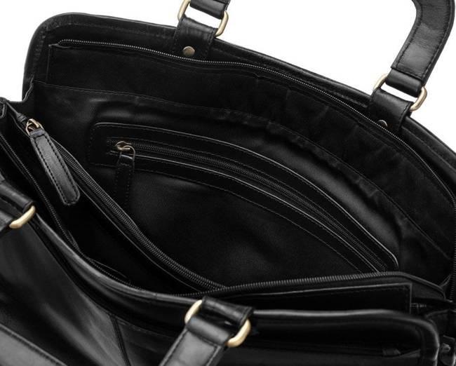 Torba na laptopa  czarna Rovicky CP-151-CCVT BLACK