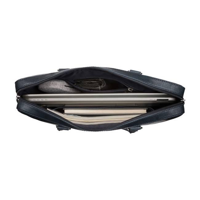 Torba na laptopa granatowa PAOLO PERUZZI SLIM IN-18-DB