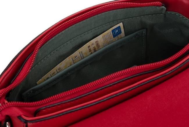 Torebka damska David Jones CM6035 czerwona