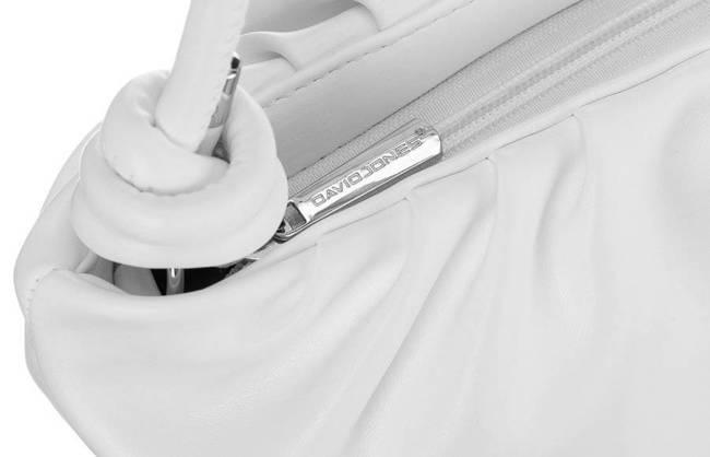 Torebka damska biała David Jones CM6039 WHITE