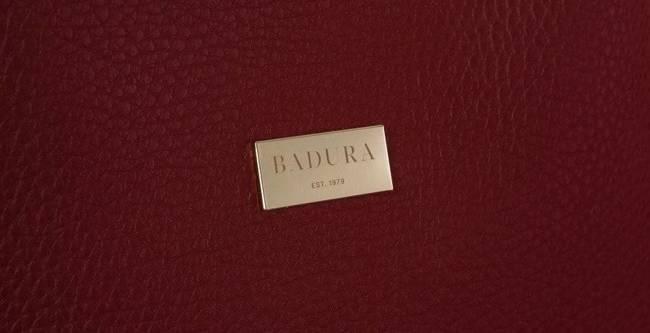 Torebka damska bordowa Badura BA/008 AS D.RED