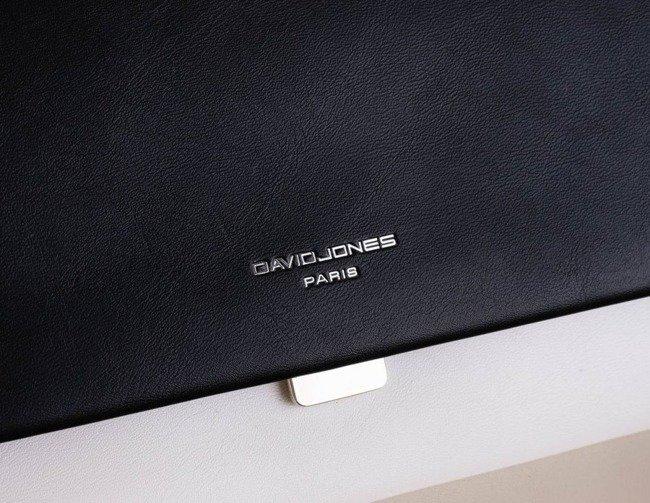Torebka damska czarna David Jones CM5659