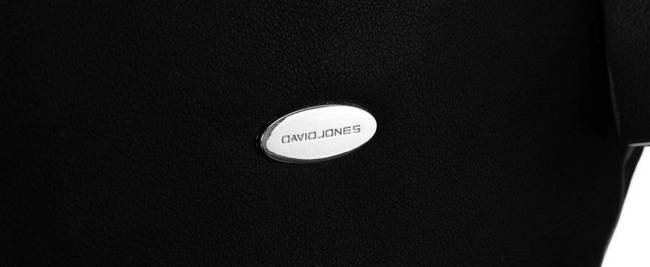 Torebka damska czarna David Jones CM5725