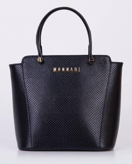 Torebka damska czarna Monnari  BAG1680-020