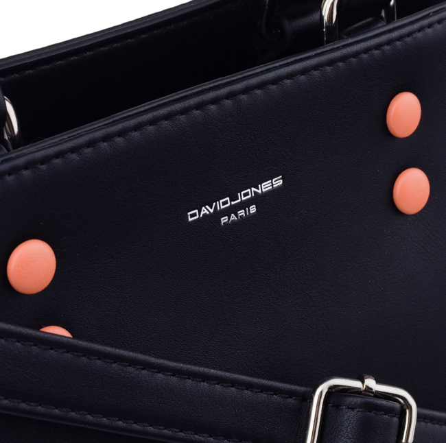 Torebka damska kuferek beżowa David Jones CM5656