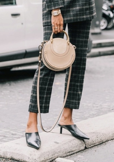 Torebka damska kuferek włoski skórzany Rovicky beżowy