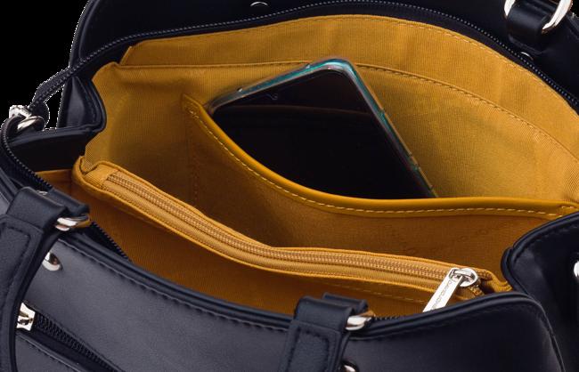 Torebka damska kuferek żółta David Jones CM5656