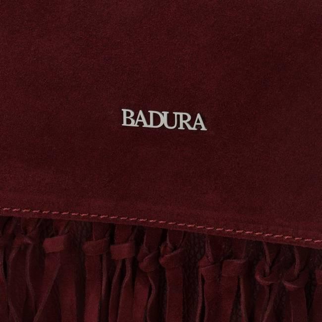 Torebka damska listonoszka bordowa Badura T_D186CR_CD