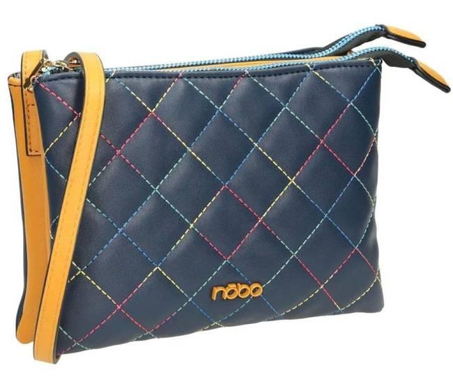Torebka damska listonoszka niebieska NOBO NBAG-J0680-C013