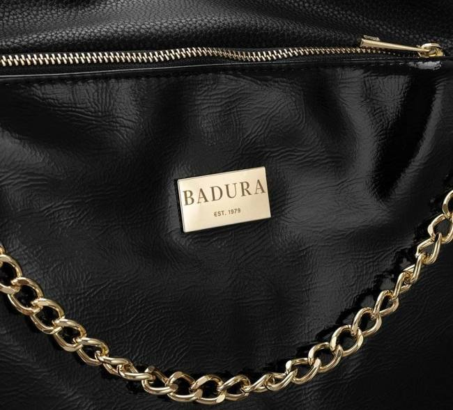 Torebka damska shopper czarna Badura T_D175CZ_CD