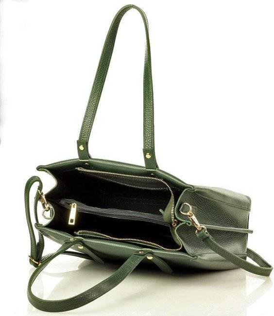 Torebka damska zielona Marco Mazzini s248b