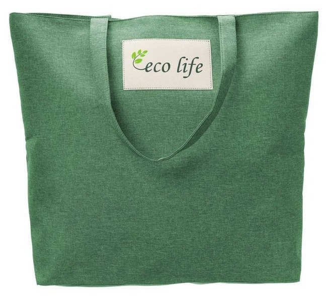 Torebka ekologiczna shopperka tekstylna A4 Rovicky zielona