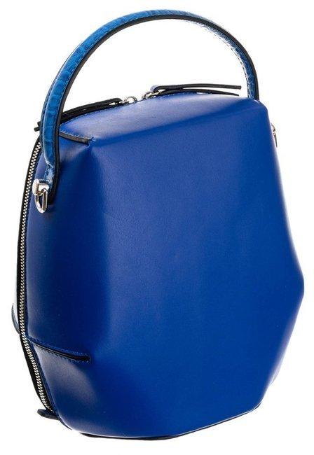 Torebka koszyk niebieska David Jones CM5697 BLUE