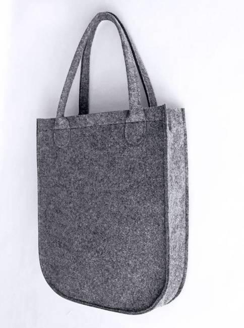 Torebka shopper bag Lorenti City Antracyt Nero 0