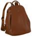 Plecak damski koniakowy David Jones 6607-2A COGNAC