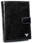 Portfel męski czarny Buffalo Wild N4L-BW BLACK