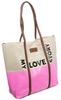 Torebka damska duży shopper bag Monnari 1740 róż